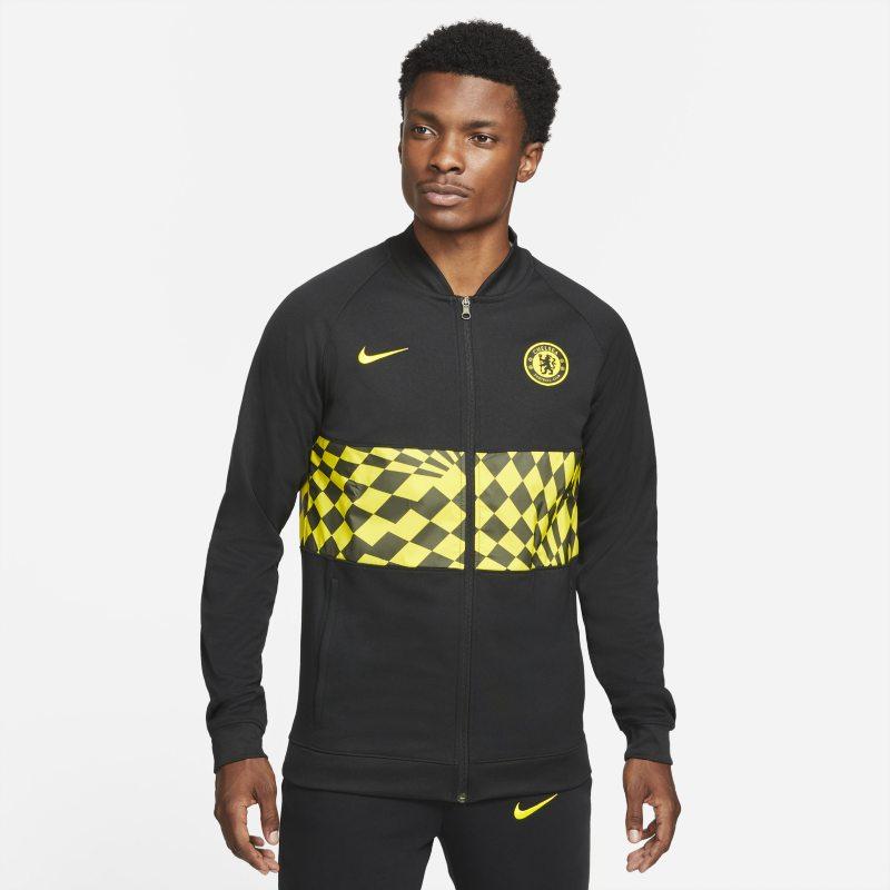 Chelsea FC Chaqueta deportiva de fútbol con cremallera completa - Hombre - Negro