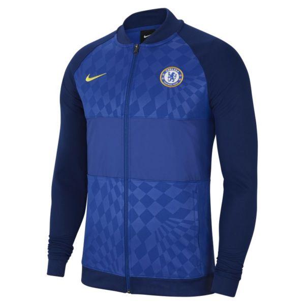 Chelsea FC Chaqueta deportiva de fútbol con cremallera completa - Hombre - Azul