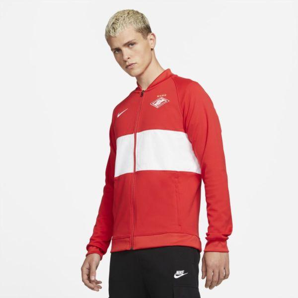 Spartak de Moscú Chaqueta deportiva de fútbol con cremallera completa - Hombre - Rojo