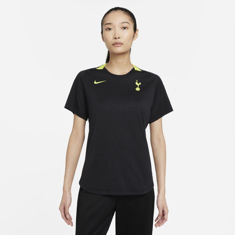 Tottenham Hotspur Camiseta de fútbol de manga corta Nike Dri-FIT - Mujer - Negro