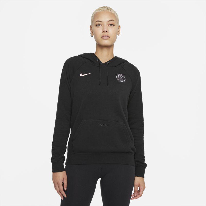 París Saint-Germain Sudadera con capucha de tejido Fleece - Mujer - Negro