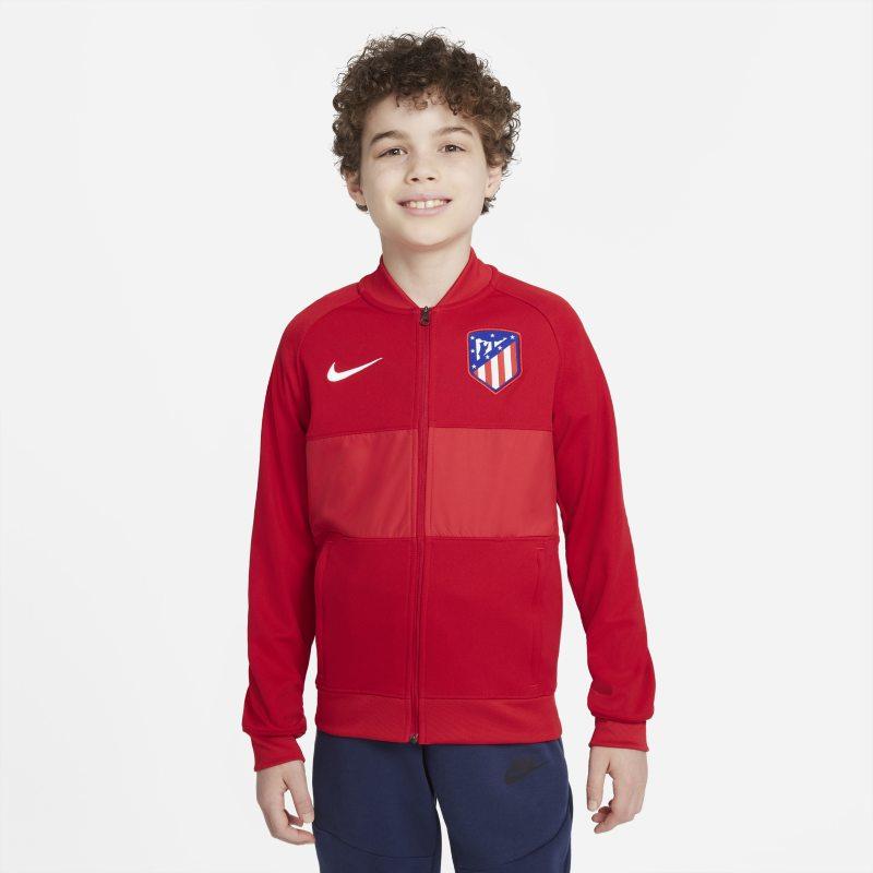 Atlético de Madrid Chaqueta deportiva de fútbol con cremallera completa - Niño/a - Rojo