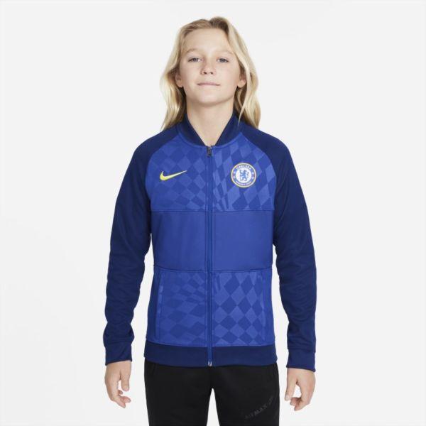 Chelsea FC Chaqueta deportiva de fútbol con cremallera completa - Niño/a - Azul