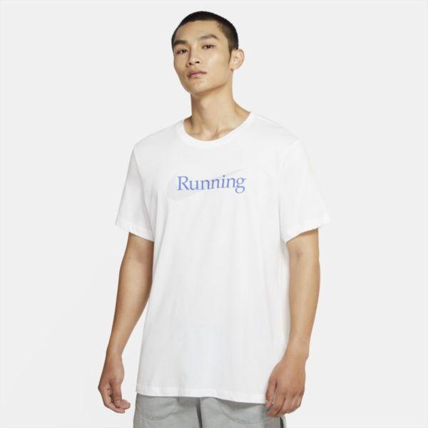 Nike Dri-FIT Camiseta de running - Hombre - Blanco