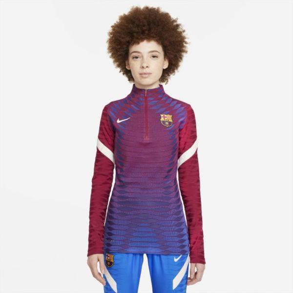 FC Barcelona Strike Elite Camiseta de entrenamiento de fútbol Nike Dri-FIT ADV - Mujer - Rojo