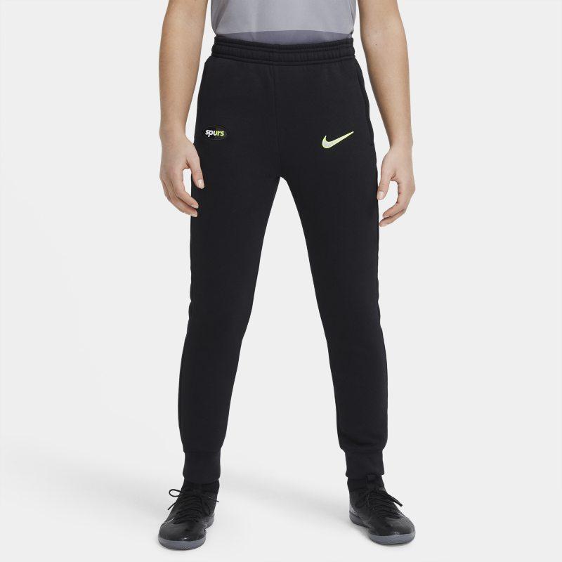 Tottenham Hotspur Pantalón de tejido Fleece de fútbol - Niño/a - Negro