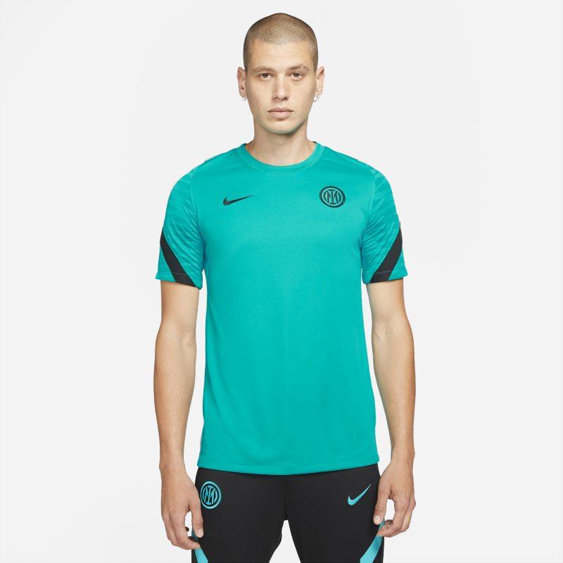 Strike Inter de Milán Camiseta de fútbol de manga corta Nike Dri-FIT - Hombre - Verde