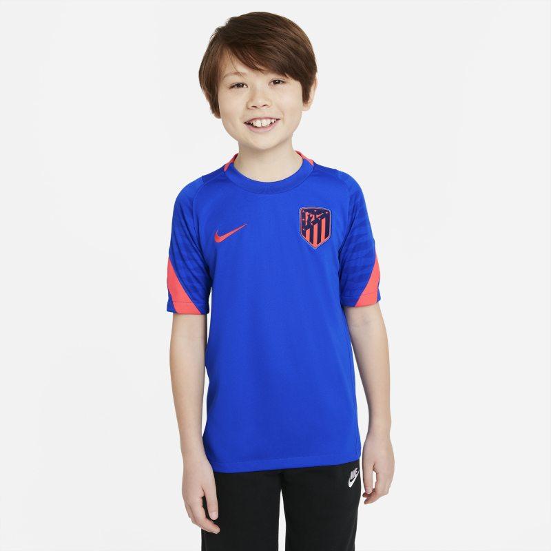 Strike Atlético de Madrid Camiseta de fútbol de manga corta Nike Dri-FIT - Niño/a - Azul