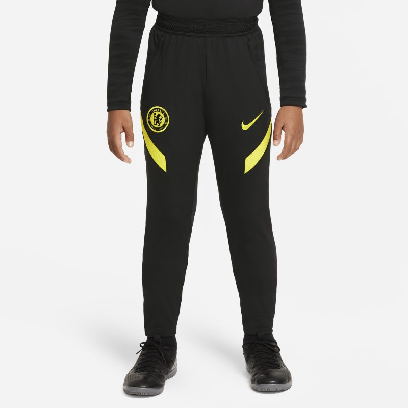 Chelsea FC Strike Pantalón de fútbol Nike Dri-FIT - Niño/a - Negro