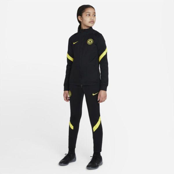 Chelsea FC Strike Chándal de fútbol Nike Dri-FIT - Niño/a - Negro