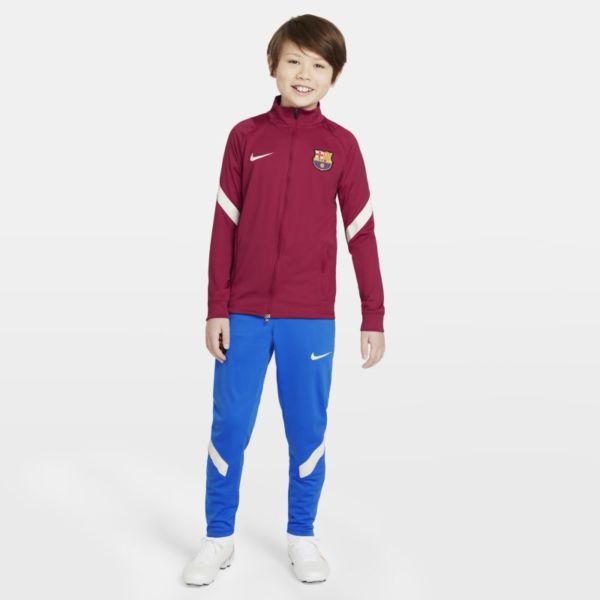 FC Barcelona Strike Chándal de fútbol Nike Dri-FIT - Niño/a - Rojo
