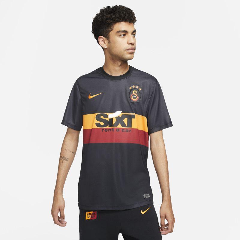 Segunda equipación Galatasaray Camiseta de fútbol de manga corta Nike Dri-FIT - Hombre - Negro