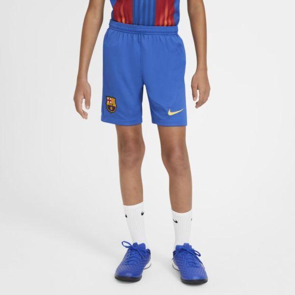 FC Barcelona 2020/21 Stadium Pantalón corto de fútbol - Niño/a - Azul