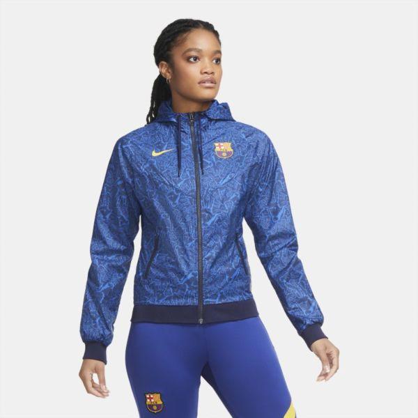 FC Barcelona Windrunner Chaqueta - Mujer - Azul