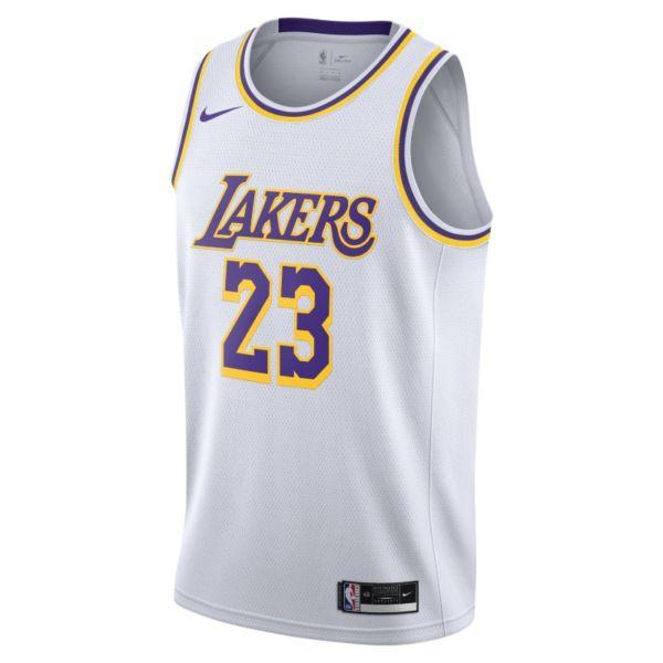LeBron James Lake Association Edition 2020 Camiseta Nike NBA Swingman - Blanco