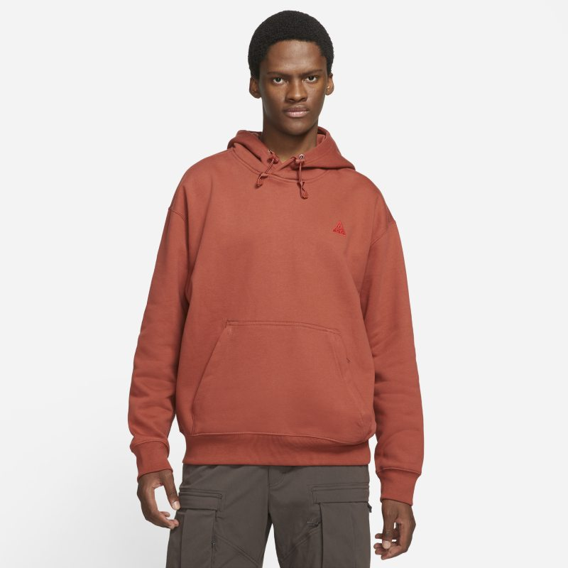 Nike ACG Sudadera con capucha de tejido Fleece - Rojo