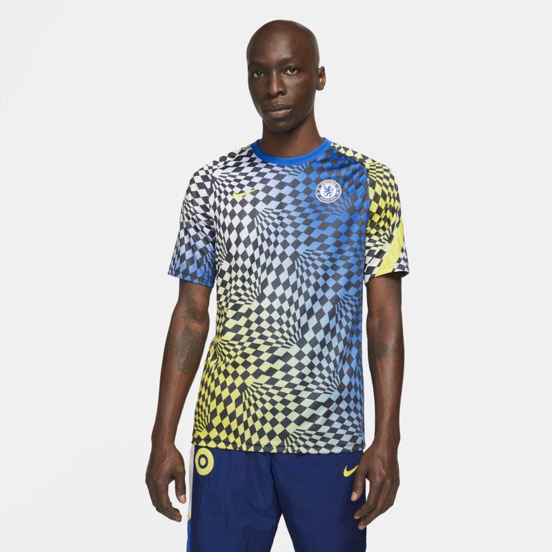 Chelsea FC Camiseta de fútbol para antes del partido Nike Dri-FIT - Hombre - Azul