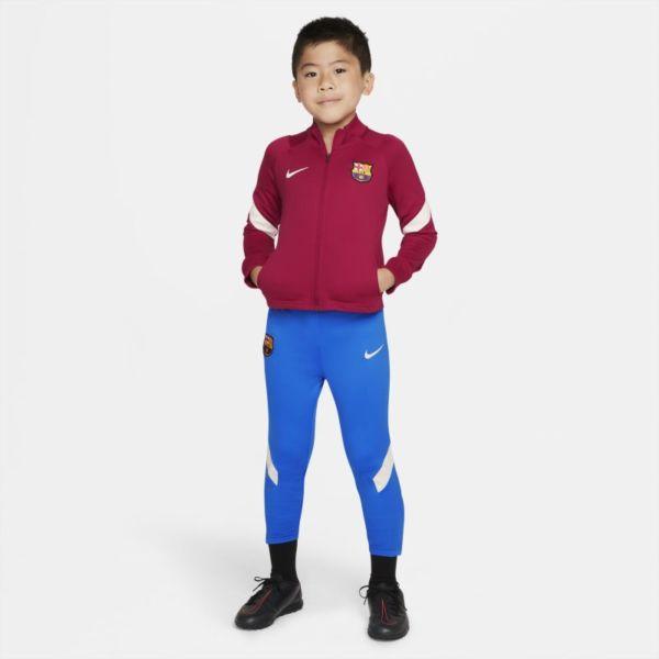 FC Barcelona Strike Chándal de fútbol Nike Dri-FIT - Niño/a pequeño/a - Rojo