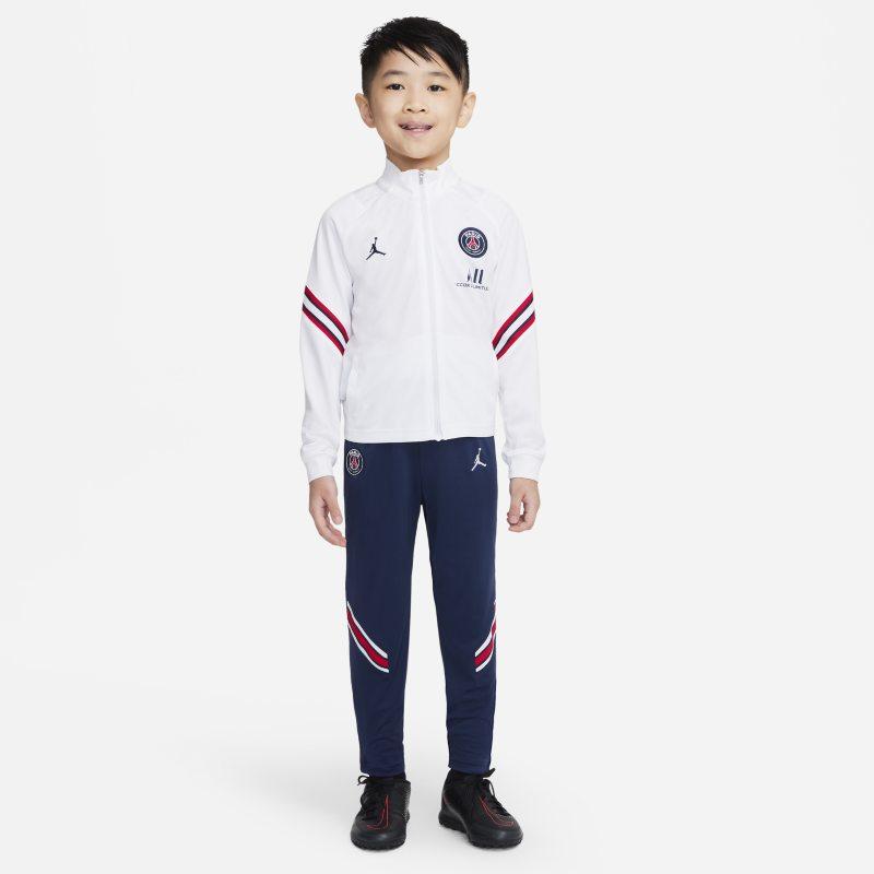 Strike París Saint-Germain Chándal de fútbol - Niño/a pequeño/a - Blanco