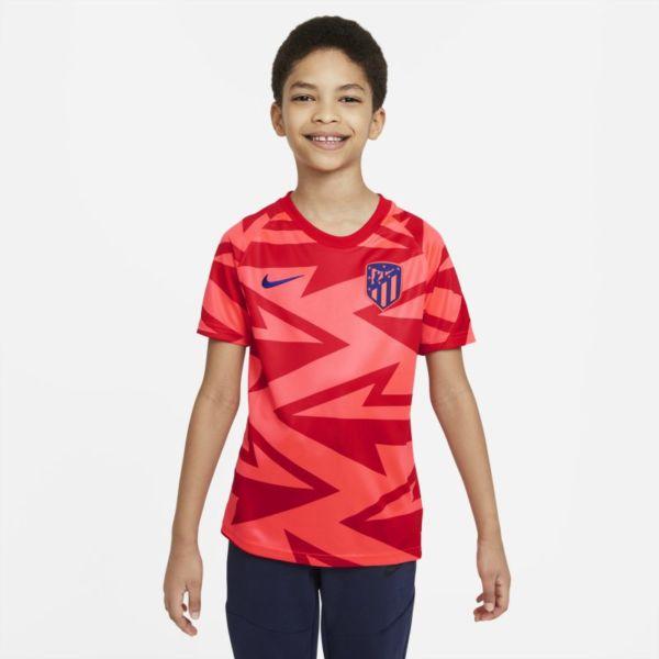 Atlético de Madrid Camiseta de fútbol de manga corta para antes de los partidos - Niño/a - Rojo