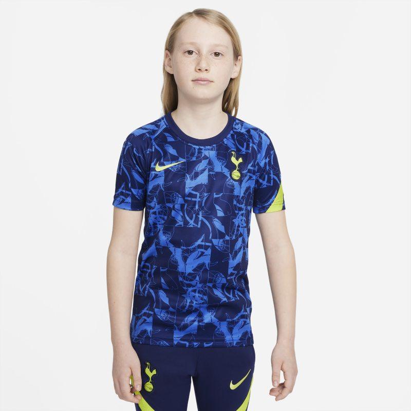 Tottenham Hotspur Camiseta de manga corta de fútbol para antes de los partidos - Niño/a - Azul