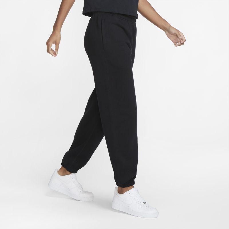 NikeLab Pantalón de tejido Fleece - Mujer - Negro