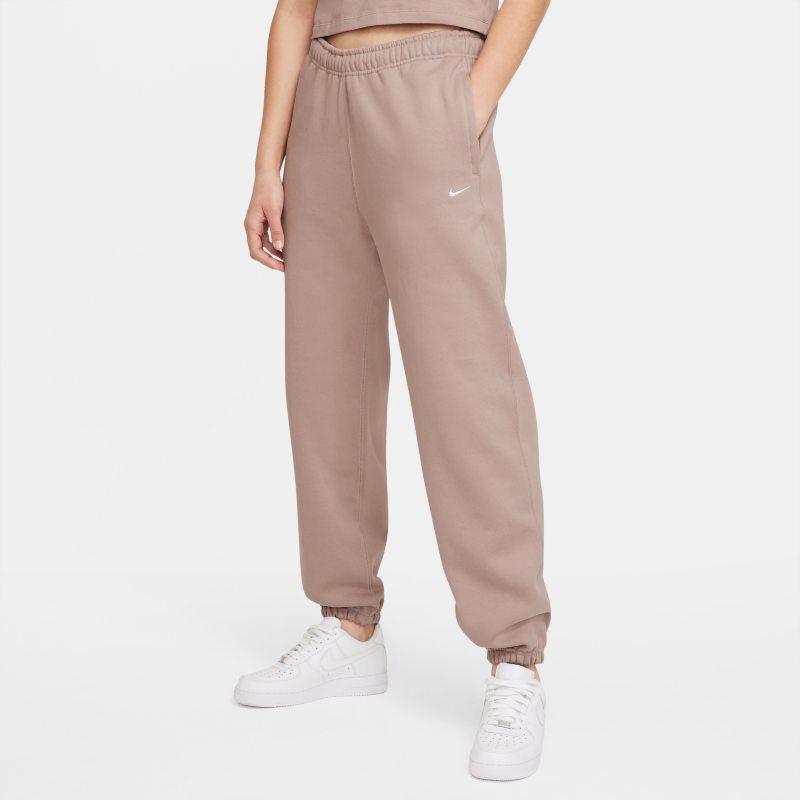 NikeLab Pantalón de tejido Fleece - Mujer - Marrón