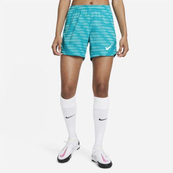 Nike Dri-FIT Strike Pantalón corto de fútbol de tejido Knit - Mujer - Azul