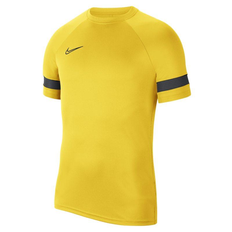 Nike Dri-FIT Academy Camiseta de fútbol de manga corta - Hombre - Amarillo