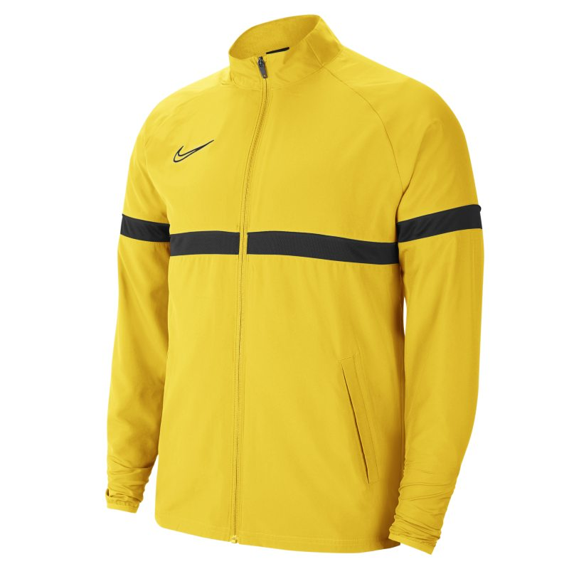 Nike Dri-FIT Academy Chaqueta deportiva de tejido Woven de fútbol - Hombre - Amarillo
