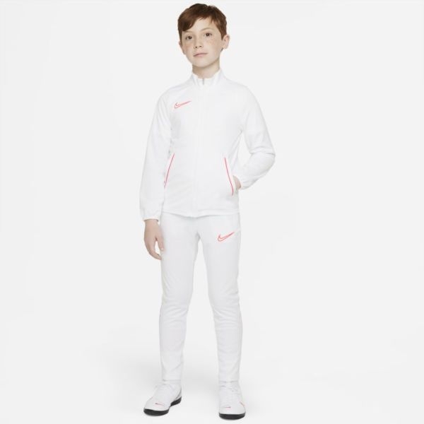 Nike Dri-FIT Academy Chándal de fútbol de tejido Knit - Niño/a - Blanco