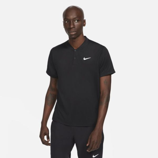 NikeCourt Dri-FIT Polo de tenis - Hombre - Negro