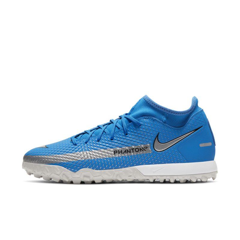 Nike Phantom GT Academy Dynamic Fit TF Botas de fútbol para hierba artificial o moqueta - Turf - Azul