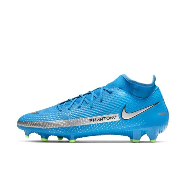 Nike Phantom GT Academy Dynamic Fit MG Botas de fútbol para múltiples superficies - Azul