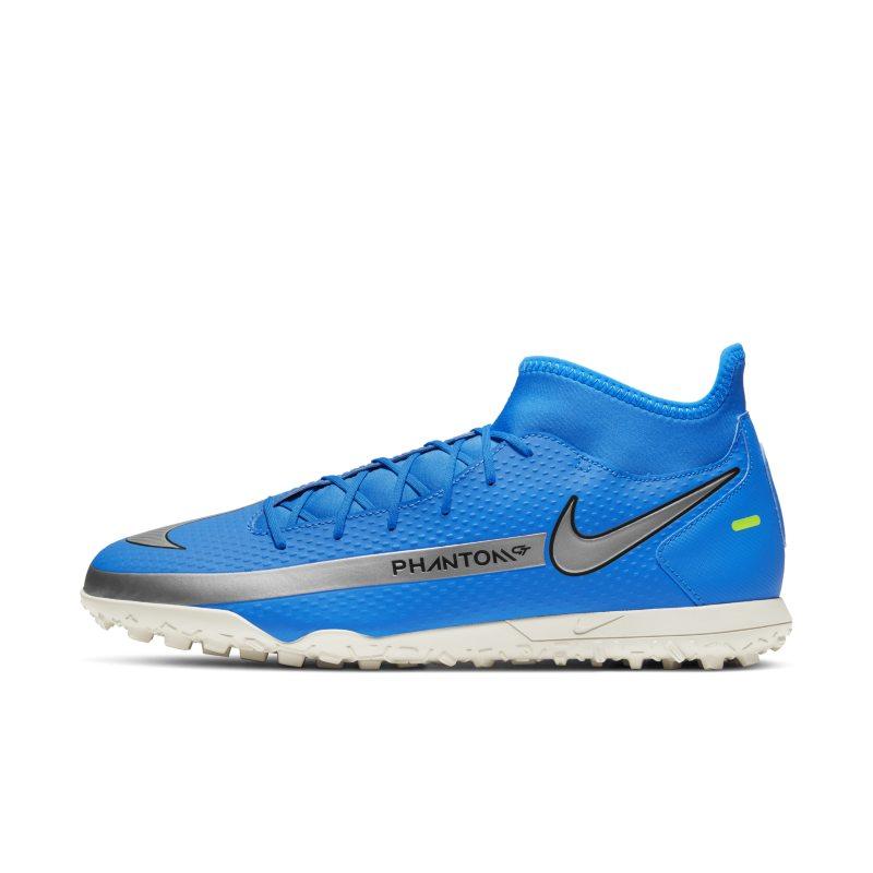Nike Phantom GT Club Dynamic Fit TF Botas de fútbol para hierba artificial o moqueta - Turf - Azul