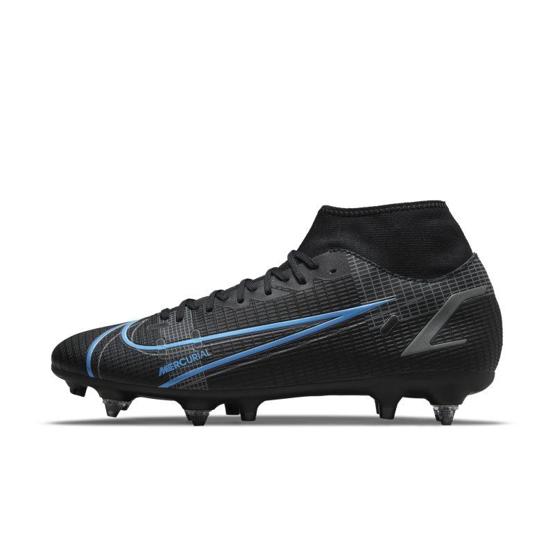 Nike Mercurial Superfly 8 Academy SG-Pro AC Botas de fútbol para terreno blando - Negro
