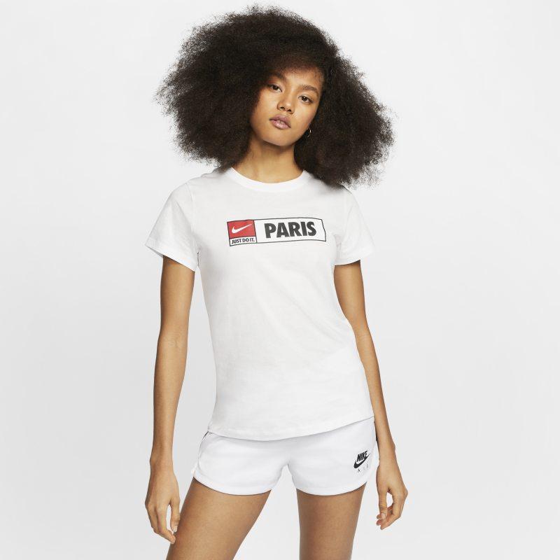Nike Sportswear Camiseta de París - Mujer - Blanco