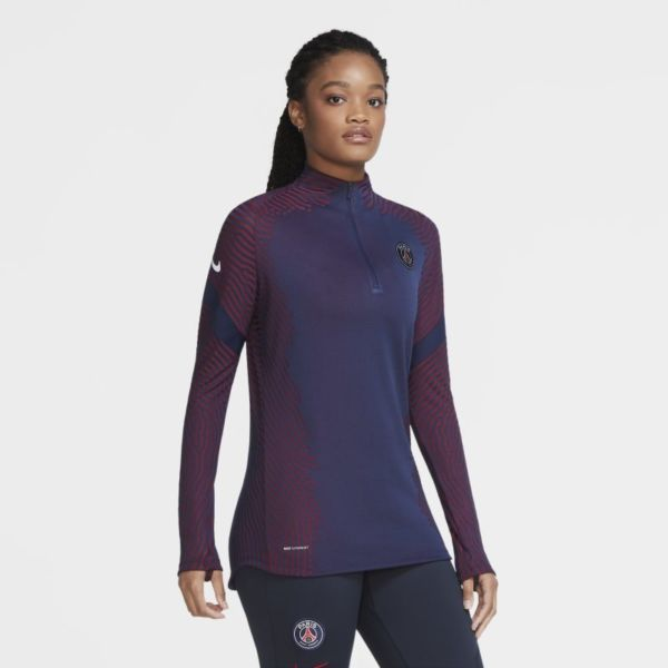 VaporKnit Strike París Saint-Germain Camiseta de fútbol de entrenamiento - Mujer - Azul