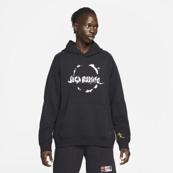 Nike F.C. Sudadera con capucha de fútbol de tejido Knit - Hombre - Negro