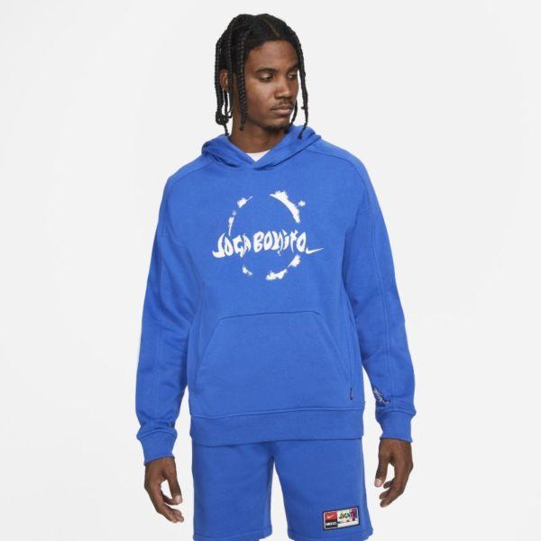 Nike F.C. Sudadera con capucha de fútbol de tejido Knit - Hombre - Azul