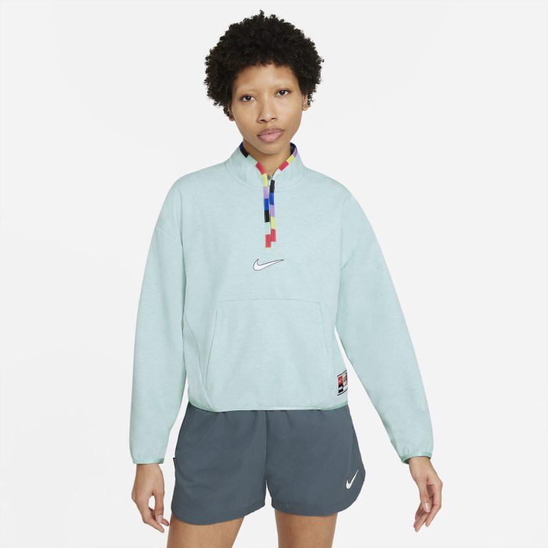 Nike F.C. Dri-FIT Chaqueta con cremallera de 1/4 - Mujer - Verde