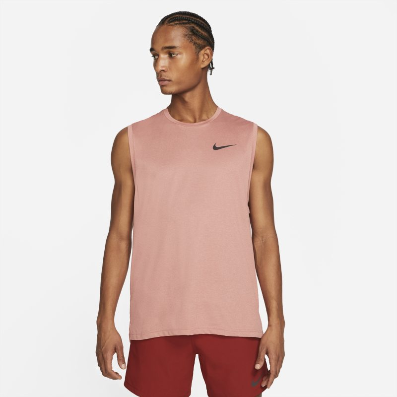 Nike Pro Dri-FIT Camiseta de tirantes - Hombre - Rojo