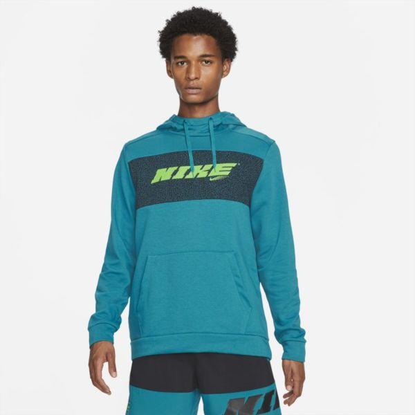 Nike Dri-FIT Sport Clash Sudadera con capucha de entrenamiento - Hombre - Azul