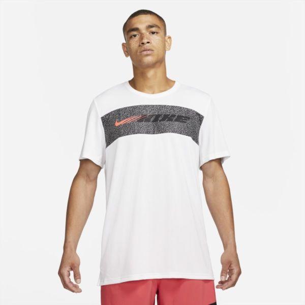 Nike Dri-FIT Superset Sport Clash Camiseta de entrenamiento de manga corta - Hombre - Blanco