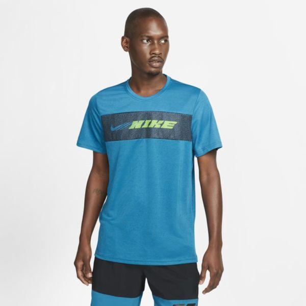 Nike Dri-FIT Superset Sport Clash Camiseta de entrenamiento de manga corta - Hombre - Azul