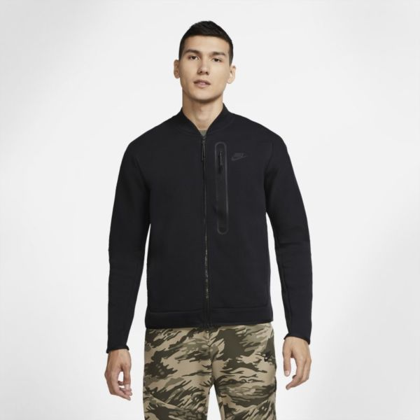 Nike Sportswear Tech Fleece Chaqueta bomber - Hombre - Negro