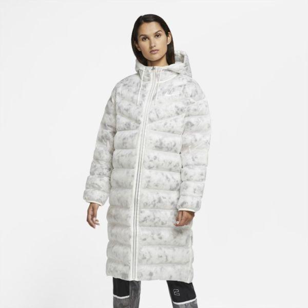 Nike Sportswear Marble EcoDown Parka - Mujer - Blanco