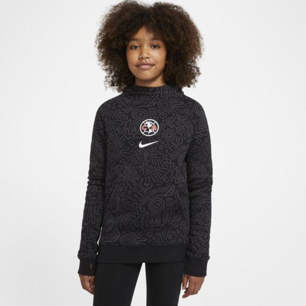 Club América Sudadera con capucha de fútbol de tejido Fleece - Niño/a - Negro