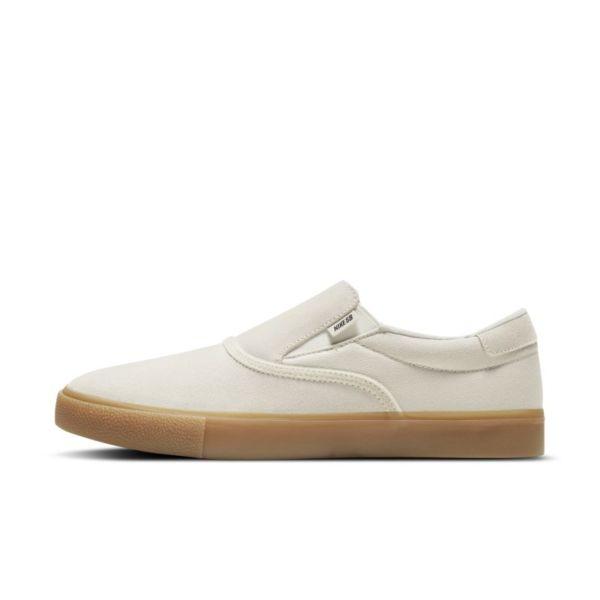Nike SB Zoom Verona Slip Zapatillas de skateboard - Blanco