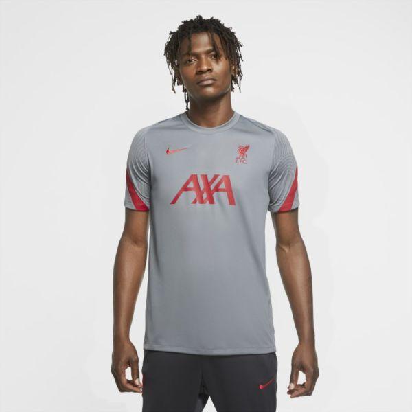 Strike Liverpool FC Camiseta de fútbol de manga corta - Hombre - Gris